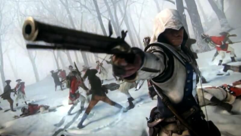 Assassin S Creed 3 Trailers Show Connor S Patriotism