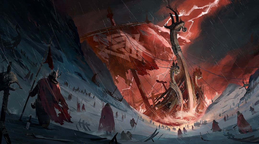 Assassin S Creed Ubisoft Concept Artist Designs Viking Themed Game