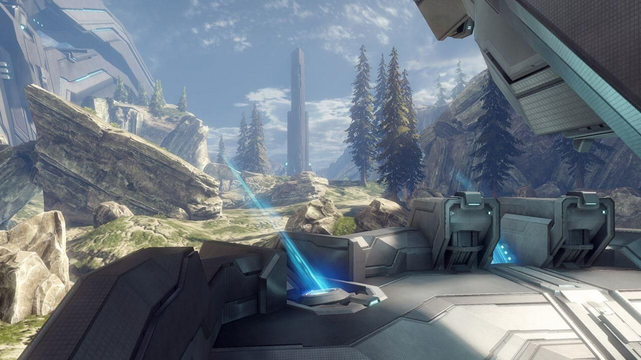 Halo 4: 'Raganarok' Map Walkthrough Video | Game Rant