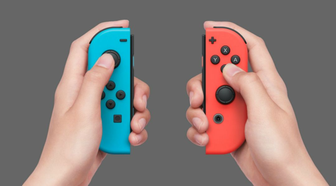 Nintendo Switch Left Joycon is Designed Different from Right