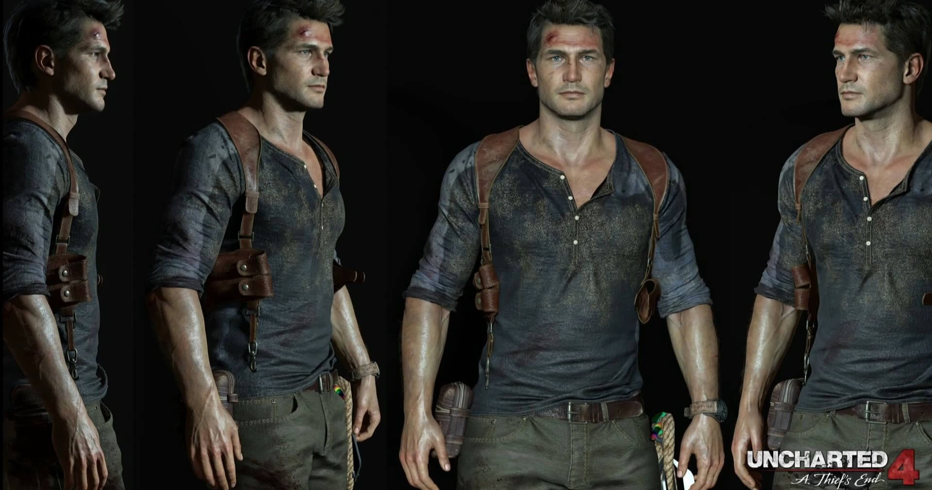 Uncharted 4 A Close Look At The New Nathan Drake Design