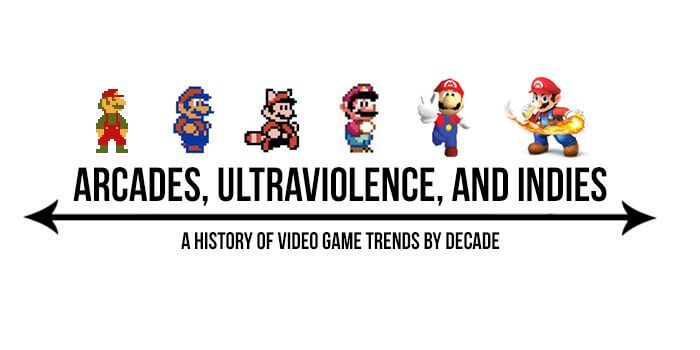 Video Game Trends by Decade: Games That Reigned In the 80s, 90s, 00s