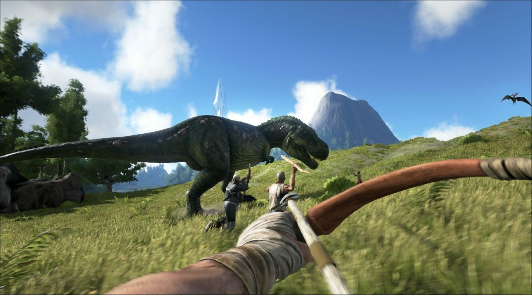 Ark: Survival Evolved's Volcano is About to Explode | Game Rant
