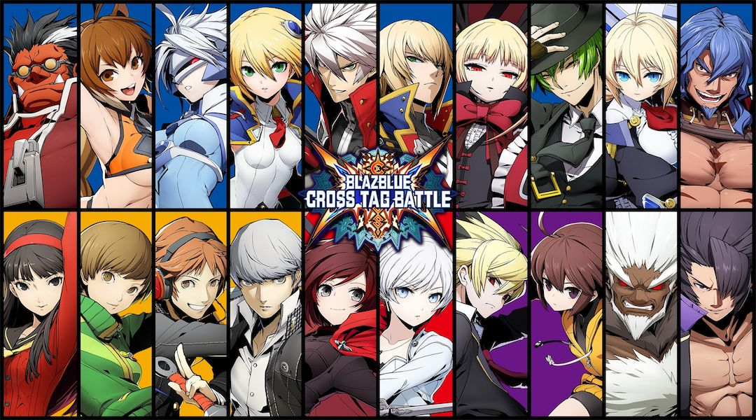 Blazblue Characters Cross Tag