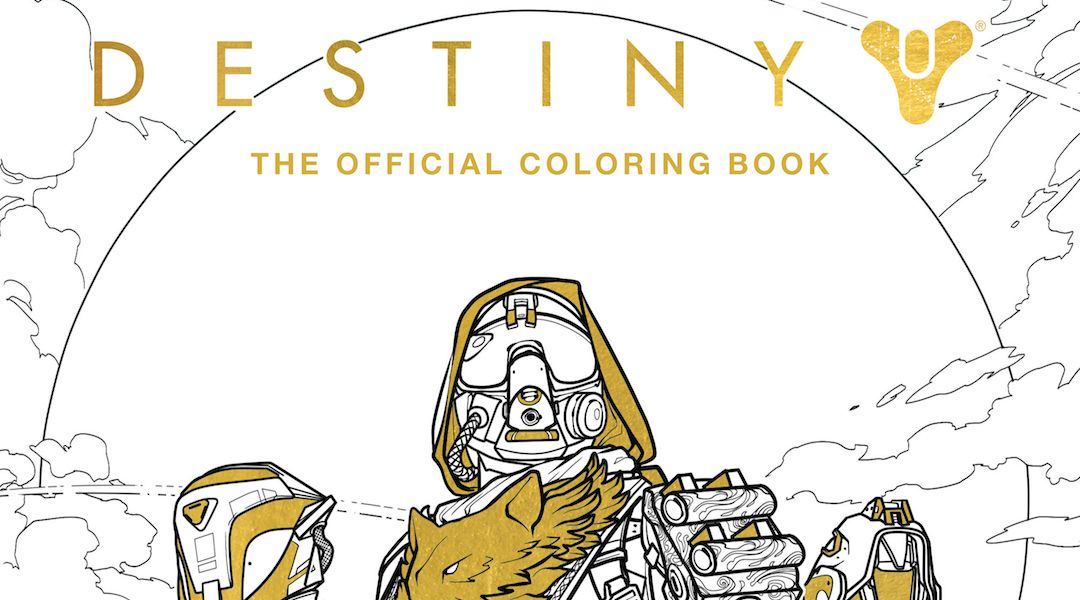 Destiny Coloring Book Offers All the Customization You Want