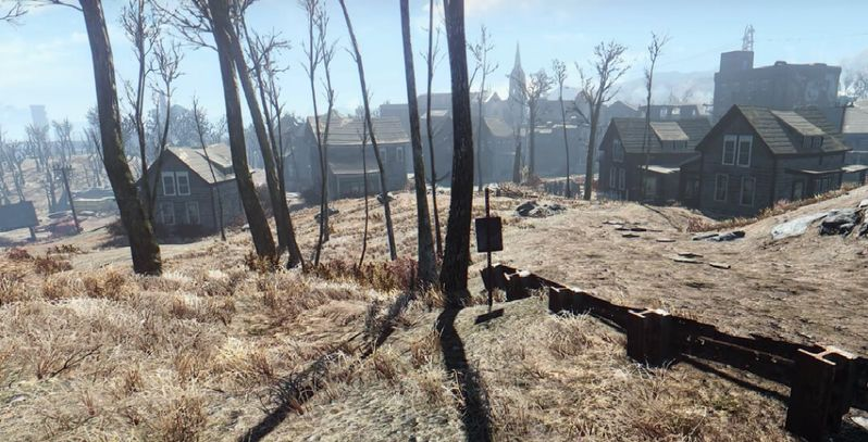 Fallout 4 Graphics Mod Makes the Boston Landscape Look Better