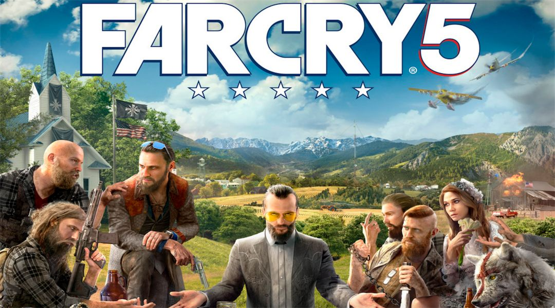 Far Cry 5 Cover Art Revealed Game Rant