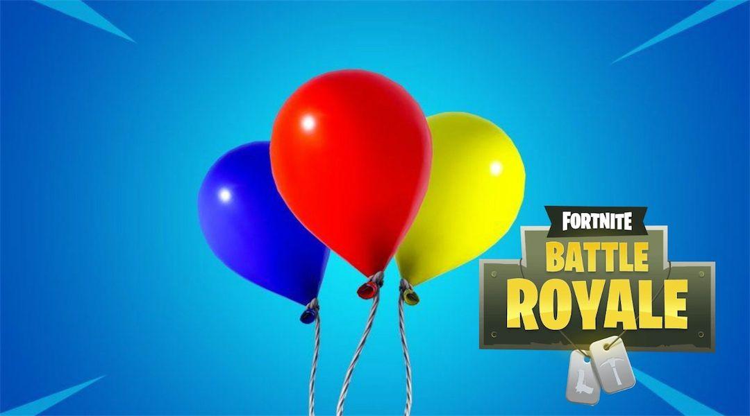 Fortnite: How Do Balloons Work? | Game Rant