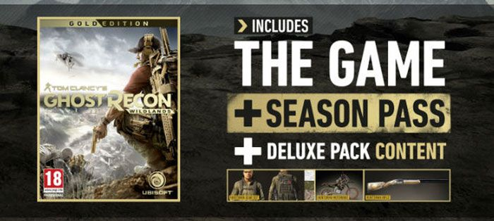 Ghost Recon Wildlands: Deluxe to Gold Complete Deals Roundup