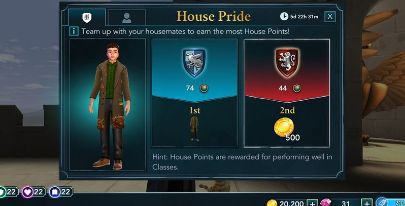 Harry Potter: Hogwarts Mystery - Why the House Pride Event is Broken