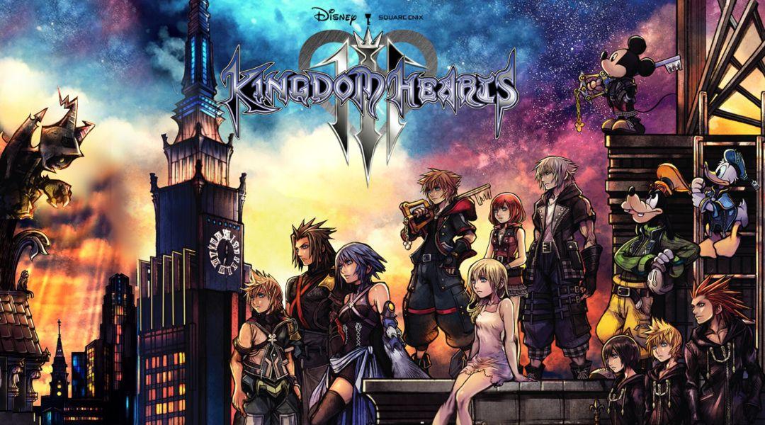 kingdom hearts 3 worlds in order