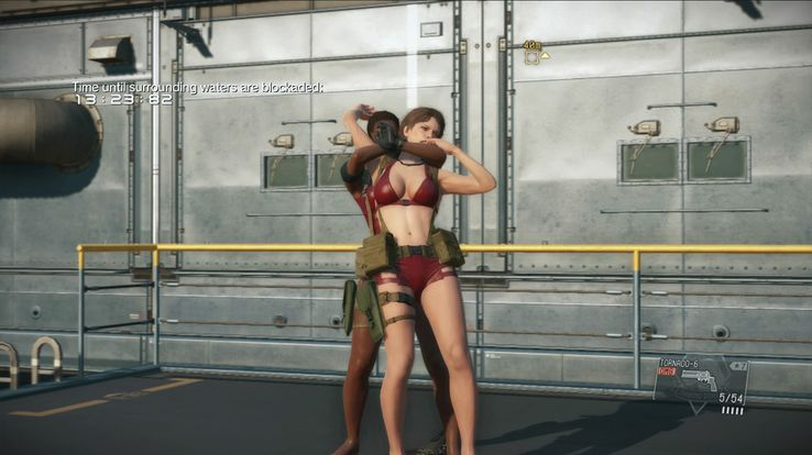 Metal Gear Solid 5 Update Adds Playable Ocelot and Swimsuits