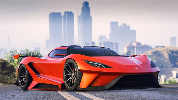 Ranked: The 10 Fastest Cars In Grand Theft Auto V | Game Rant