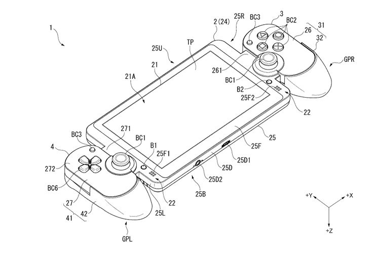 Sony Patented Device That Looks Like Nintendo Switch | Game Rant