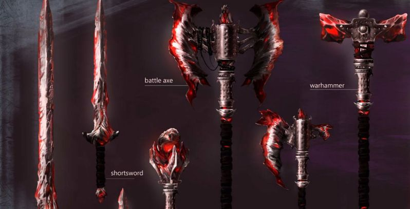 Skyblivion Mod Shows Off Daedric Weapon Set | Game Rant