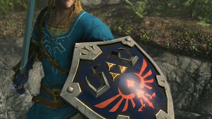 Skyrim on Nintendo Switch Has Zelda: Breath of the Wild Gear