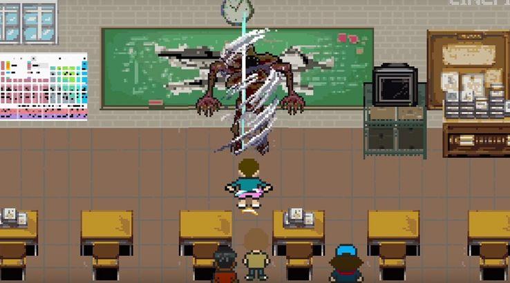 GR Pick: 8-Bit Stranger Things Game | Game Rant