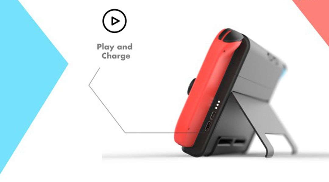 quality design 9e44f 65251 Nintendo Switch Battery Life Extended to 12 Hours With SwitchCharge Case